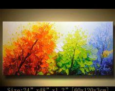 Original Abstract Painting Modern Textured van xiangwuchen op Etsy