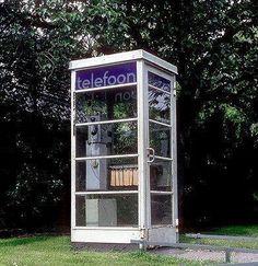 Van Gispen telefooncel 1960