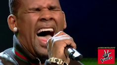 R. Kelly surprises The Voice judges and live audience and kills it on stage