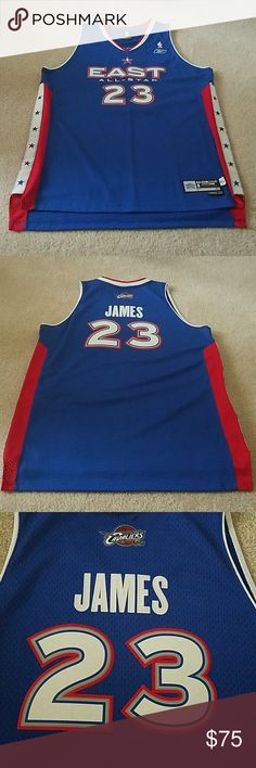 Description  LeBron James 2005 NBA All-Star Jersey From the 2005 All-Star  game in Denver Authentic. 8b9c785a2