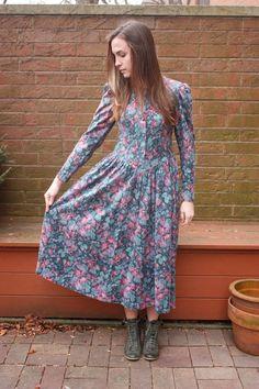 80s Laura Ashley dresses.  I think I had this one!