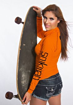Original Orange Back Snikwah Icon- Back | Sizes: Women's S-XL