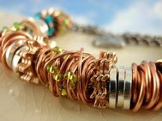 I love this funky bracelet by #unkamengifts!  #etsy  :-)