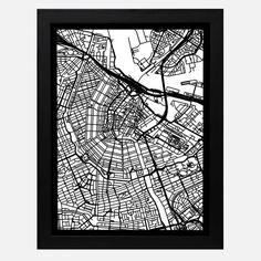 Amsterdam Cut Map