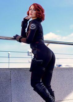 Cosplay Outfits, Cosplay Girls, Sexy Outfits, Black Widow Scarlett, Black Widow Natasha, Marvel Cosplay, Marvel Girls, Comics Girls, Helen Stifler