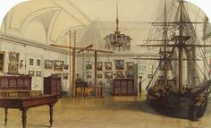 Interiors of the Winter Palace. The Nursery of the Children of Emperor Nicholas I, or the Ship Room