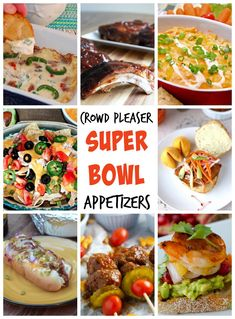 The BIG GAME is only days away, is your menu ready? Well don't you worry, I scoured the web, and got some of the best appetizer recipes from my favorite blogging friends, and have them all in one place for you! Super Bowl Appetizer Round-up - Eazy Peazy Mealz