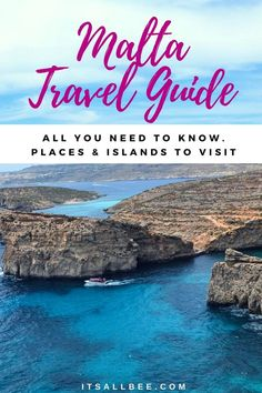 Malta Travel Tips - Places and Things to do In Malta Beautiful Places To Visit, Cool Places To Visit, Places To Travel, Amazing Places, Travel Goals, Travel Tips, Solo Travel, Travel Europe, European Travel