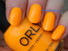 Orly Baked Collection for Summer 2014