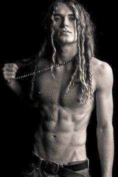beautiful boys long hair - Buscar con Google