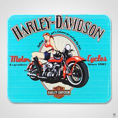 PLACA HARLEY BROWN
