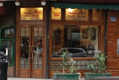 Cafe Riche - Downtown Cairo.