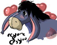 Awwe. And I love Eeyore!