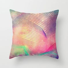 Magenta Pattern Pillow Cover | dotandbo.com