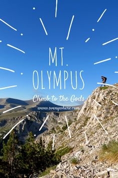 Mt. Olympus is the highest mountain of Greece, discover here how to climb it within 3 days, reach the summit and relax in the sea. The most amazing mountain  to travel to for hiking that is available in such authentic, cultural country as Greece. From wild nature, to difficult climbing and beaches as a reward. All the tips and how to do this on my website. Sharing is caring!