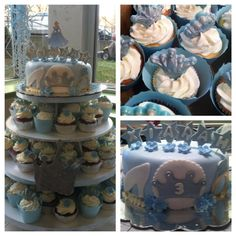 Cinderella cupcakes and cake