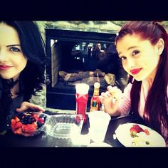 Lunch with little Ari :) @Ariana Grande