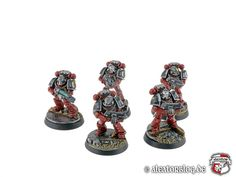 Warhammer 30k Horus Heresy | Word Bearers | Veteran Squad #warhammer #30k #30000 #wh30k #horus #heresy #preheresy #space #marines #gw #gamesworkshop #forgeworld #wellofeternity #miniatures #wargaming #hobby