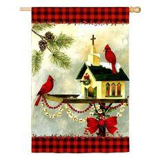 """Christmas in the Garden 12.5 ' X 18 Garden Flag by Evergreen. $8.64. Christmas in the Garden 12.5 ' X 18"""" Garden Flag. Save 45% Off!"""