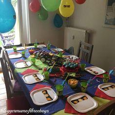 Lego Ninjago Party - O Aniversário - Kindergeburtstag motto - Aniversario Ninja Birthday Parties, Watermelon Birthday Parties, Birthday Tags, 8th Birthday, Birthday Party Themes, Themed Parties, Lego Ninjago, Ninjago Party, Lego Lego