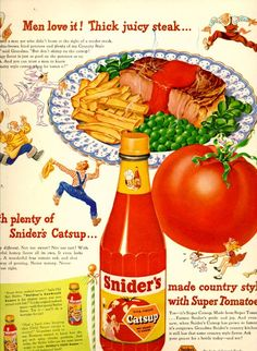 vintage country cooking 1948 advertisement by FrenchFrouFrou, $12.95