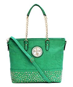 Love this Green Alisa Tote on #zulily! #zulilyfinds