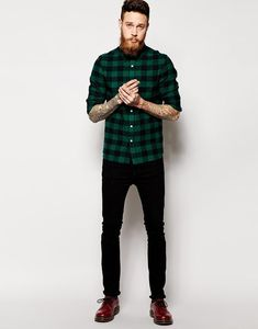 Sweatpants Outfit, Adidas Outfit, Stylish Mens Outfits, Casual Outfits, Men Casual, Fashion Outfits, Bottes Red Wing, Martens Style, Flannel Outfits