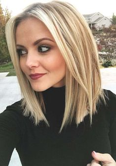 Long Bob Blonde Hairstyles for 2018
