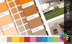 Colecção de Cores Inspire-se para pintar o seu mundo! Nem sempre é fácil escolher-se as cores para pintar as nossas habitações. A pensar numa forma de o ajudar a ultrapassar essa dificuldade e a encon