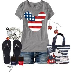 """A Mickey 4th"" by lagu on Polyvore"