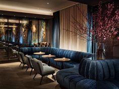 The Blond restaurant at 11 Howard New York luxury restaurant design