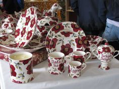 Emma Bridgewater Christmas Preview at collectors day, 2015