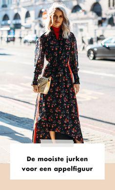 Een appelfiguur hoef je niet te verstoppen, want: hartstikke vrouwelijk en sexy. De jurk is dan ook hét perfecte kledingstuk in de garderobe van de zoetsappige appel.  Lente | Zomer | Fashion | Mode | Streetstyle Trends | Trends | Fashion Week | 2020 | Look | Outfit | Figuuradvies | Figuur | Appel | Appelfiguur | Jurken | Jurk | Stijl | Vorm | Pasvorm | Dragen | Stylen | Stijlen | Combineren | Tips | Shoppen | Online Shoppen | Inspiratie | Meer Op Fashionchick
