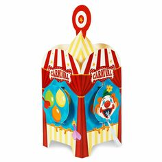 Carnival Games Centerpiece