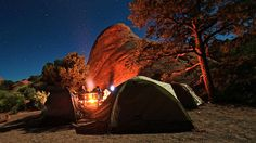 Camping outdoors | 25 Badass Camping Hacks For Your Next Trip