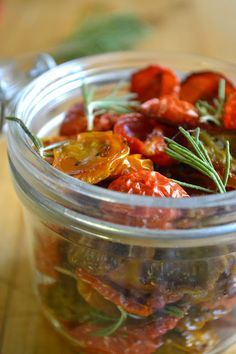 Oven Dried Cherry Tomatoes {The View from Great Island}