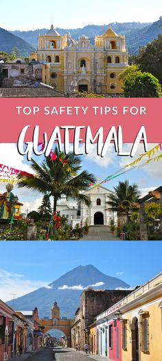 Here are my top safety travel tips for Guatemala. It's a beautiful country, but, as with any new place, there are some things to keep in mind!