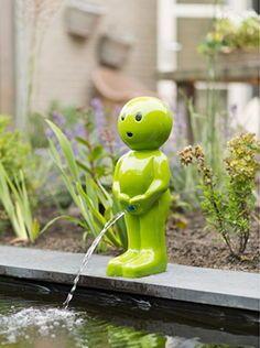 Teich Tauch Pumpe Wasserspeier Fisch Gartenteich Springbrunnen Garten Figur NEU