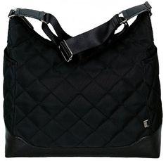 OiOi Přebalovací taška Hobo > varianta Černá s diamantovým vzorem