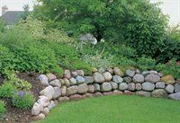 Dry Stack Wall: Black & Decker Projects and Advice | How to Build a Stone Retaining Wall Part 2 of 2