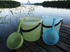 Buckets and tubs can be used in many different ways at home, in the garden or in the summer cottage.