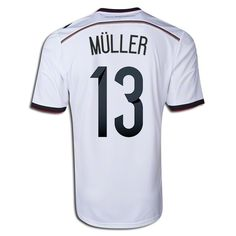f8de3c475 2014 Thomas Muller  13 Germany Home Men s Soccer Jersey