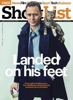 Tom Hiddleston Shortlist Magazine 8.10.2015 Read the interview here http://www.shortlist.com/entertainment/films/tom-hiddleston-and-one-seriously-cool-cat From http://www.weibo.com/torilla