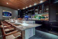 Cozinhas com ilhas - veja dicas + 30 modelos de ilhas de cocção e refeição…