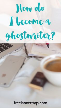 How Do I Become A Ghostwriter? Interested in ghostwriting or freelance writing? Check out this post on how to get started as a ghostwriter.