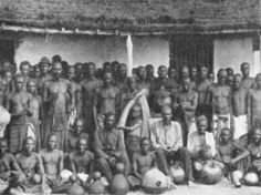 Baluba natives 1908