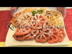 Rosette Cookies from Sheilah's Kithchen - YouTube