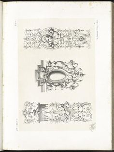 ([1872]) - Spécimens de la décoration et de l'ornementation au XIXe siècle - by Michel Lienard