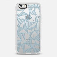 Ab Sky Blue Lines Transparent  - New Standard Case ** $10 off and free shipping with code 5UUFAR **