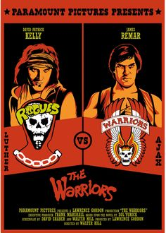 Love this Warriors movie poster.